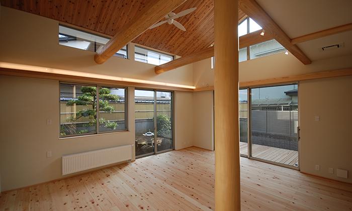 熊取青葉台の家